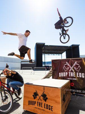 Extreme Show da Drop the Edge, Dirt Jump, Bike Trial e Parkour