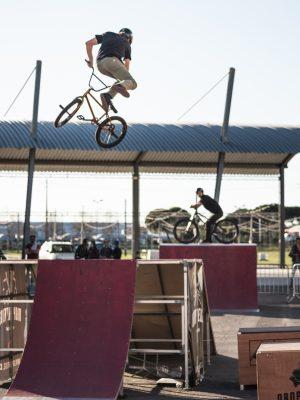 Nuno Faria Demonstração de BMX Grândola